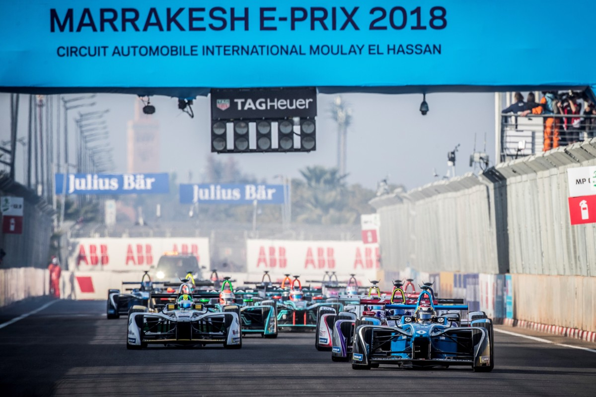 Renault e.dams sul podio a Marrakech