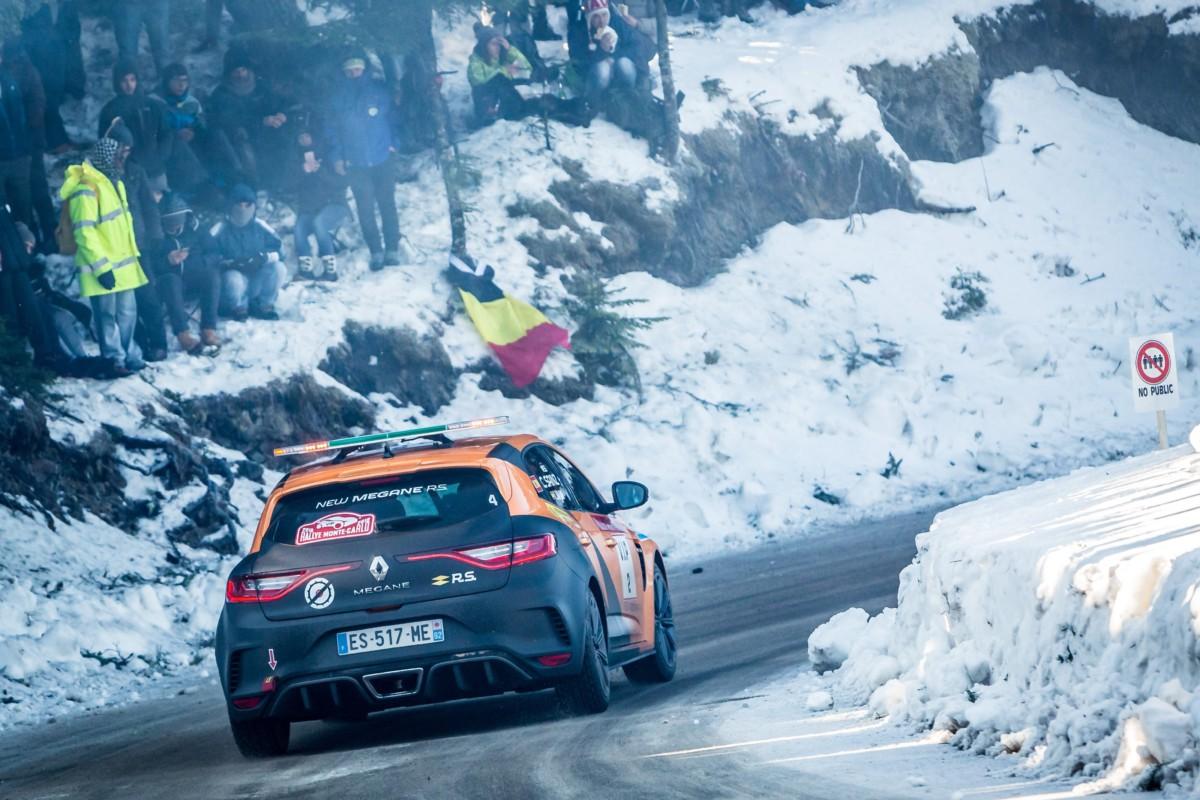 Carlos Sainz assapora il WRC con Nuova Megane R.S.