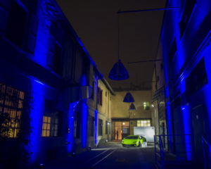 Collezione Automobili Lamborghini alla Milano Fashion Week