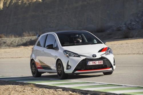 Nuova Toyota Yaris GRMN, stradale ma nata in pista