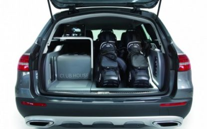 Mercedes CLUB HOUSE: la showcar per i golfisti