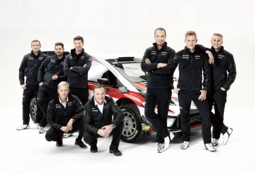 Toyota GAZOO Racing al Monte Carlo
