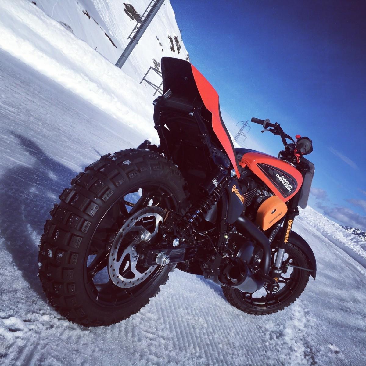 Harley-Davidson a SnowQuake 2018
