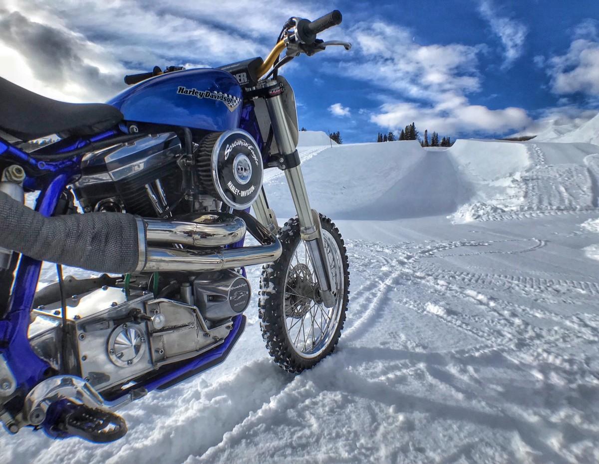 Harley-Davidson Snow Hill Climb su ESPN