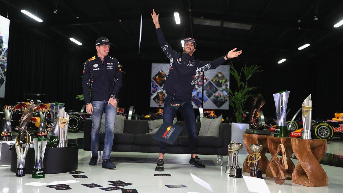 Verstappen non vuole perdere Ricciardo