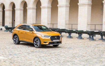 DS 7 CROSSBACK gioca in casa
