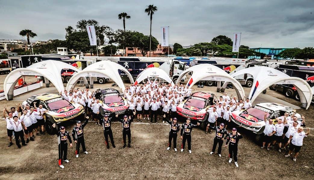 Dakar: il Team PEUGEOT Total punta al settimo sigillo
