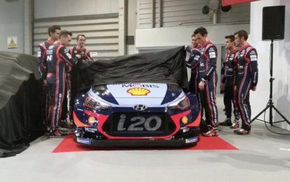 Hyundai pronta per la quinta stagione nel WRC