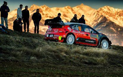 Citroën C3 WRC pronta per la sfida di Montecarlo