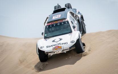 Il ritorno di SsangYong alla Dakar con la Tivoli DKR