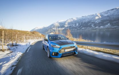 In Norvegia con la prima Ford Focus RS Taxi