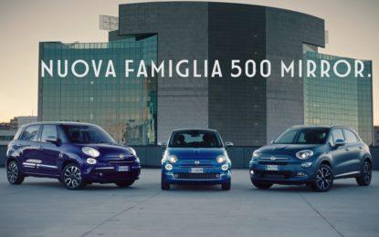 Fiat presenta la famiglia 500 Mirror
