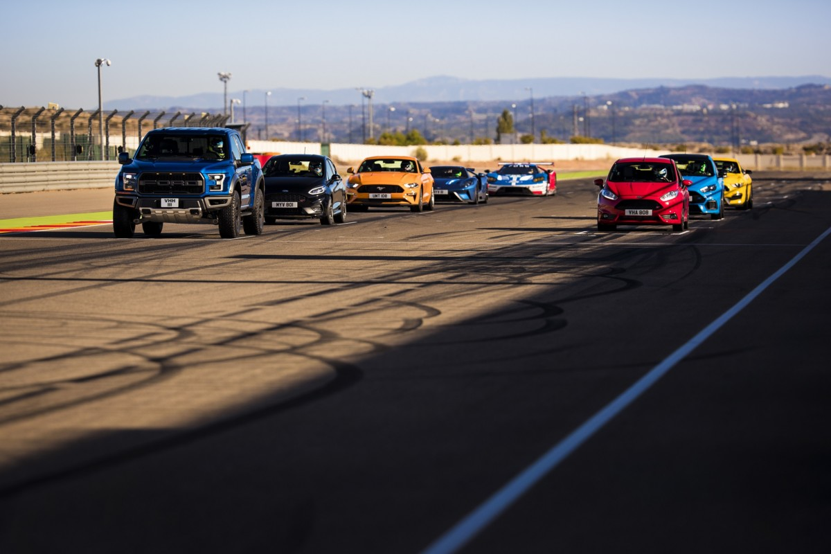 Ford Performance: sfida per 8 a Motorland