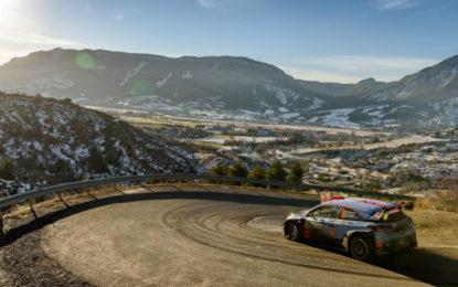 WRC 2018: Hyundai all'attacco a Monte Carlo