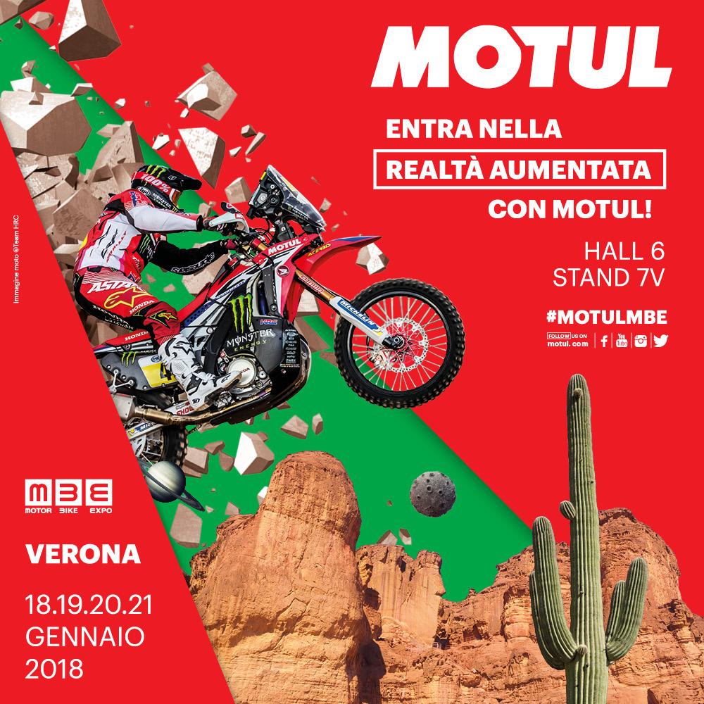 Motul main sponsor Motor Bike Expo