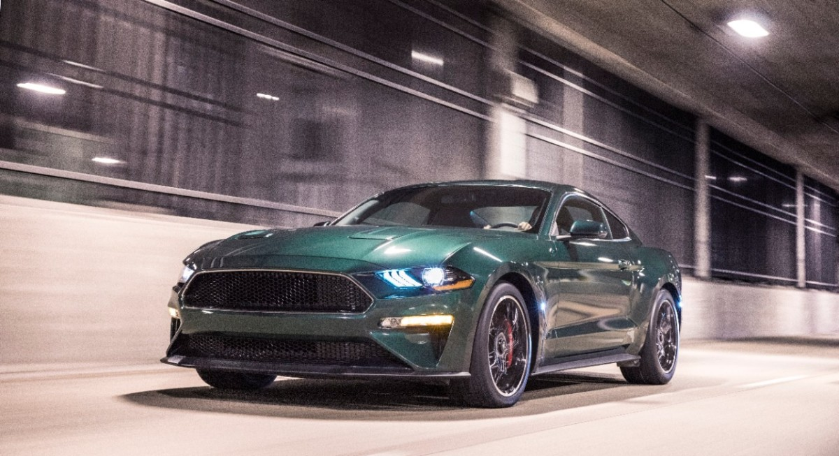 Mustang Bullitt Limited Edition e Ford Edge ST