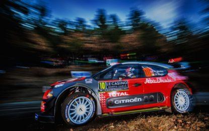 Monte Carlo: partenza in salita per le Citroën C3 WRC