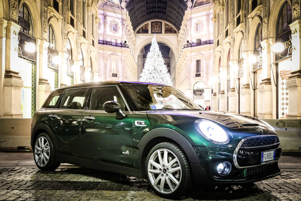 MINI Clubman ALL4 da Milano a Courmayeur