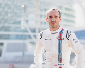 Robert Kubica reserve & development driver Williams 2018