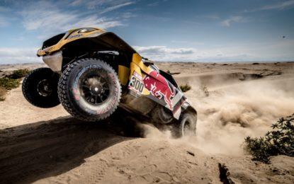 Dakar: tripletta Peugeot DKR3008 MAXI nella 4° tappa