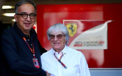 """Ecclestone: """"Alla Ferrari manca la guida di Marchionne"""""""