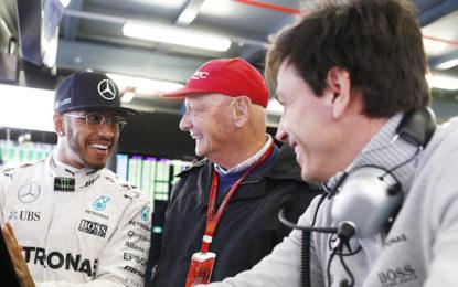 Lauda pronto al ritorno nel 2019. E parla di Vettel e Hamilton