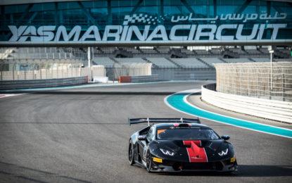 Il Lamborghini Super Trofeo 2018 parte da Abu Dhabi