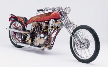 "La leggendaria ""Untouchable"" a Motor Bike Expo"