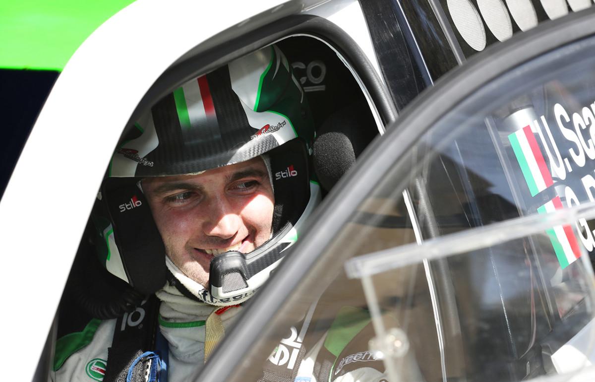 Umberto Scandola nel WRC2 con ŠKODA Fabia R5