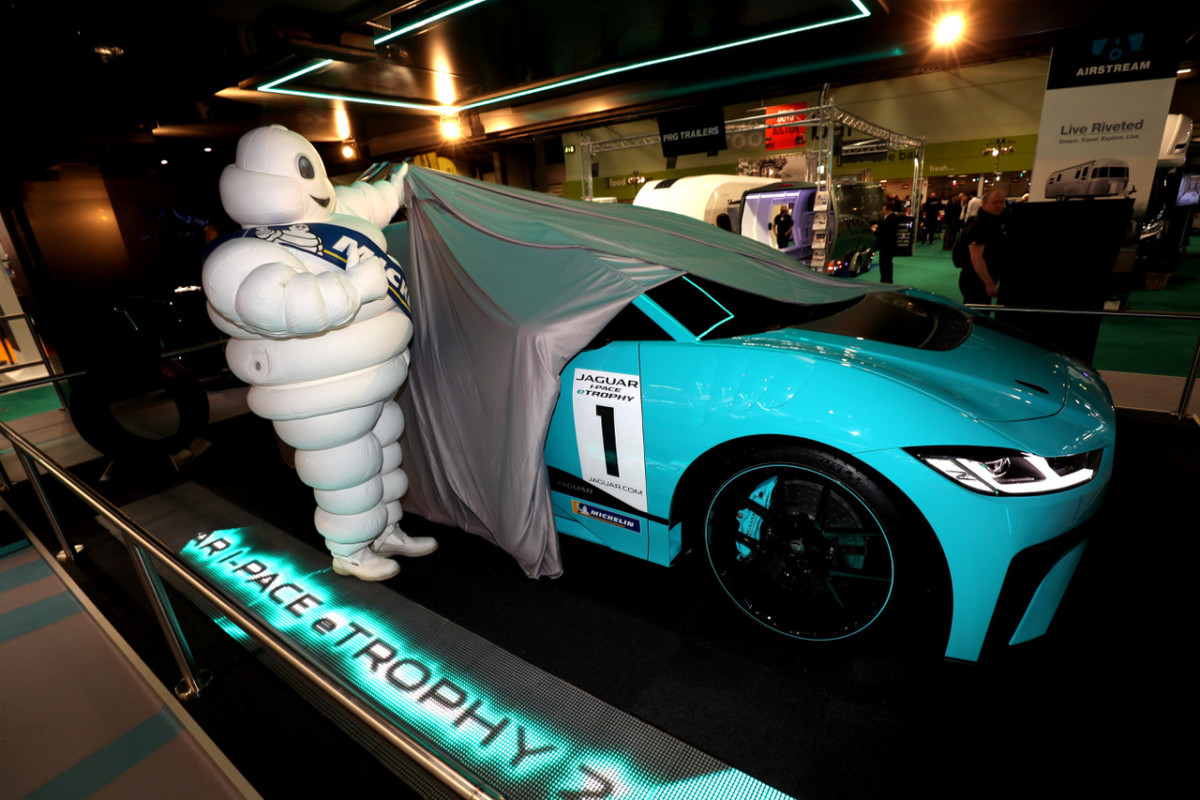 Michelin partner del Jaguar I-PACE eTROPHY