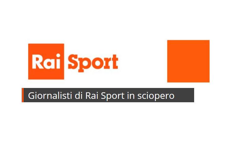 Giornalisti Rai Sport in sciopero. Anche per la F1