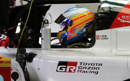 Alonso ufficiale WEC con TOYOTA GAZOO RACING