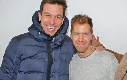 Wolff e Vettel a Kitzbuhel: e vai di gossip!