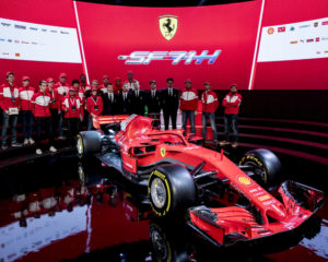 SF71H: ecco la Ferrari F1 2018
