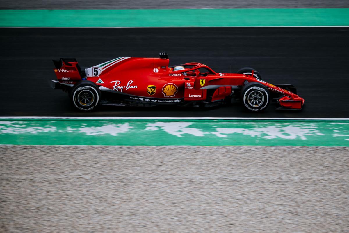 98 giri per la Ferrari nel secondo giorno di test