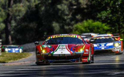 Otto Ferrari al via alla 24 Ore di Le Mans