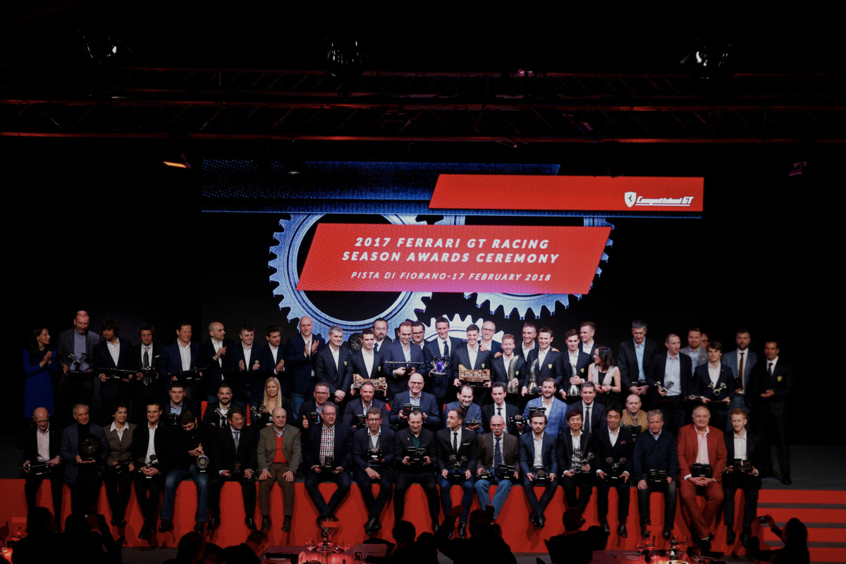 Premiazioni Ferrari a Fiorano