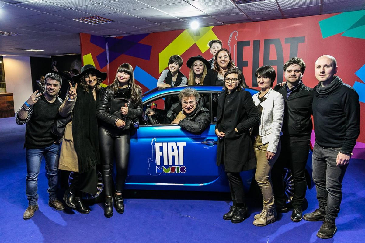 Fiat Music festeggia Ultimo