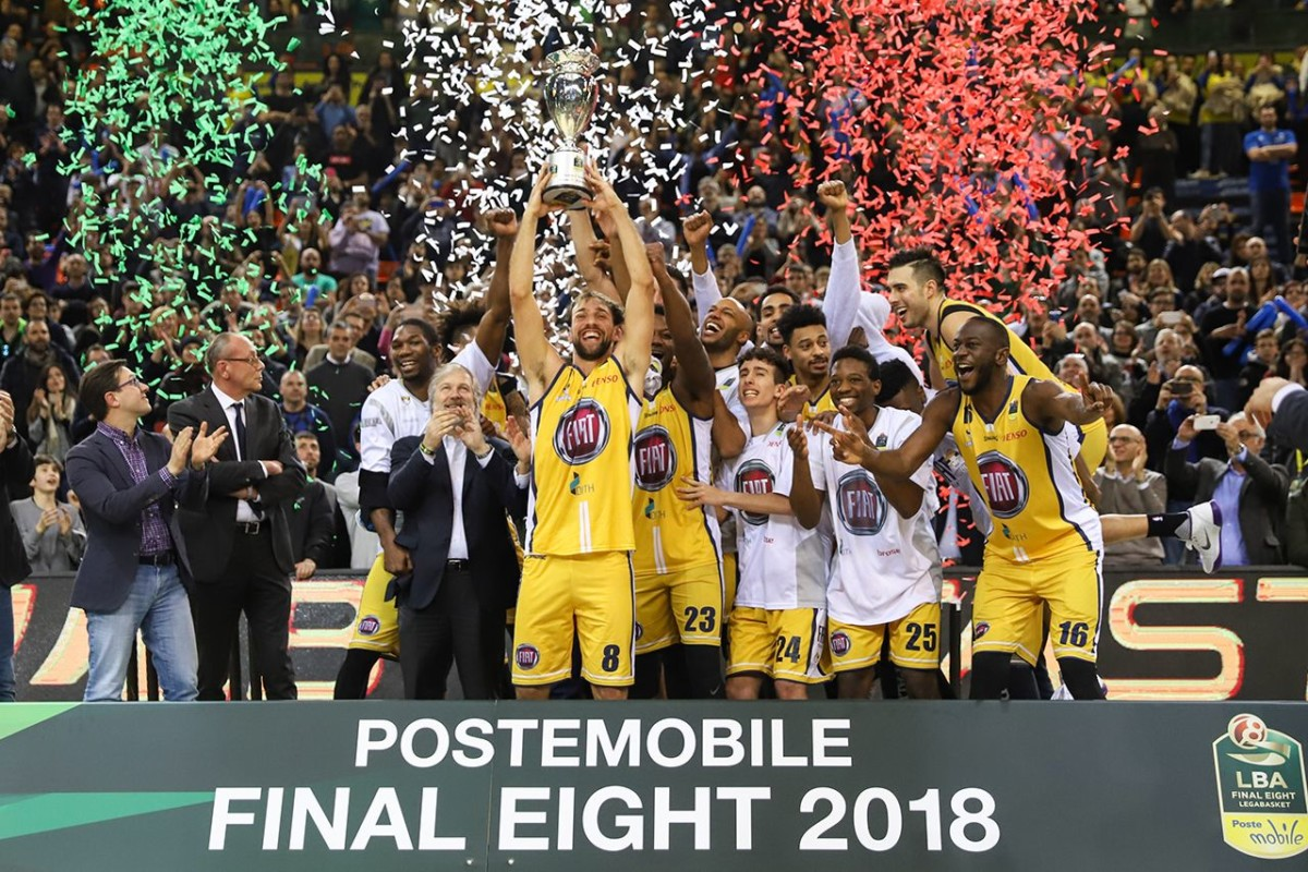 Fiat conquista il primo trofeo nel basket