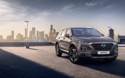 Nuova Hyundai Santa Fe: le prime immagini