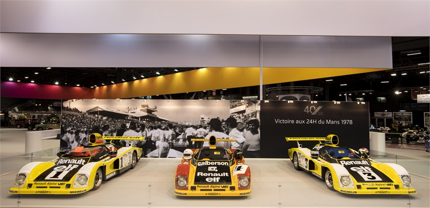 Rétromobile: Alpine e i 40 anni della vittoria a Le Mans