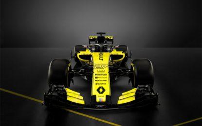 Presentata la Renault R.S.18