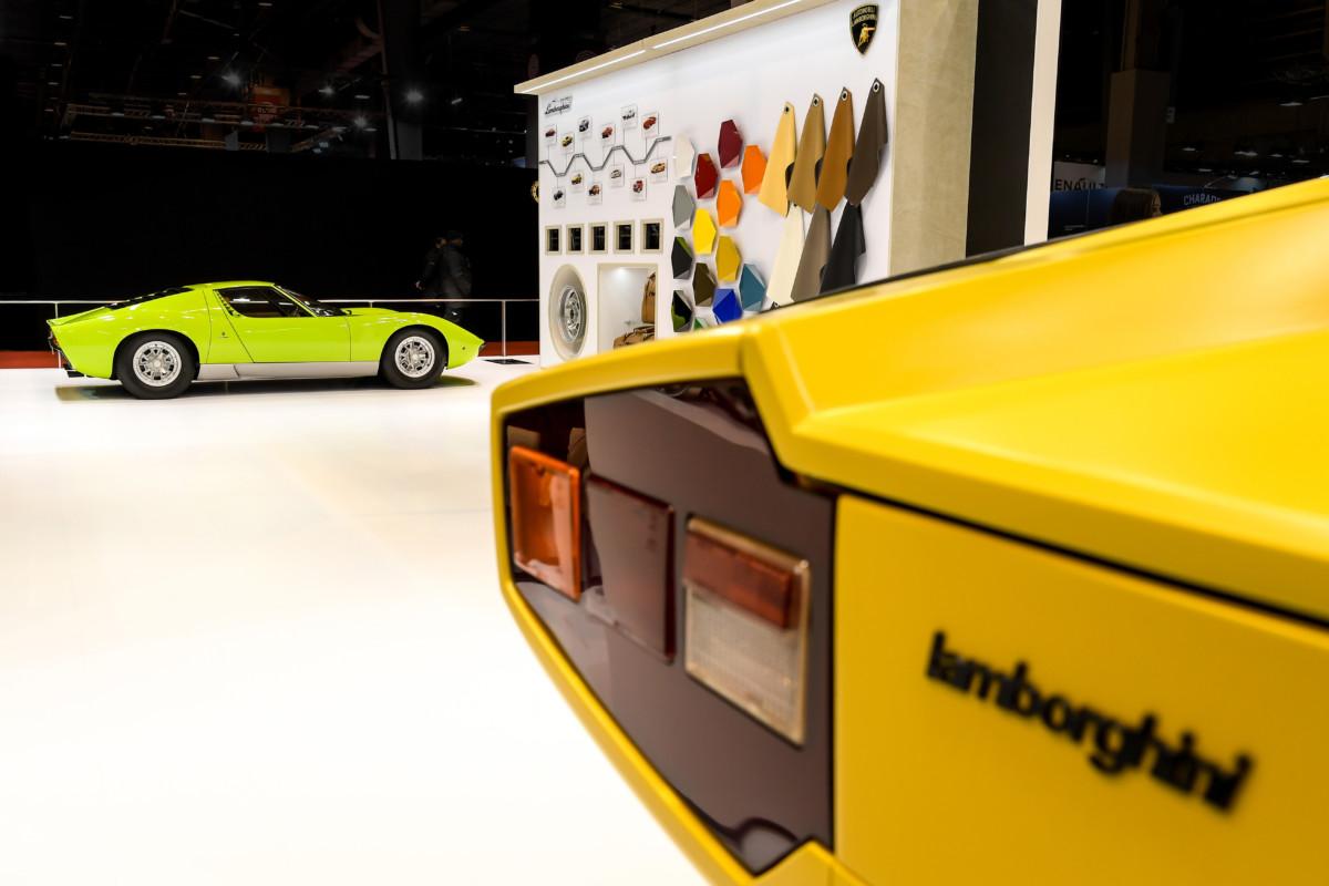 Lamborghini Polo Storico a Rétromobile