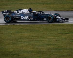 Primi giri di pista per la RB14 e Ricciardo