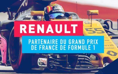 Renault partner del GP di Francia di Formula 1