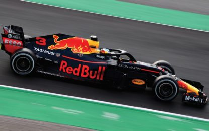 Primo giorno di test, il migliore è Ricciardo