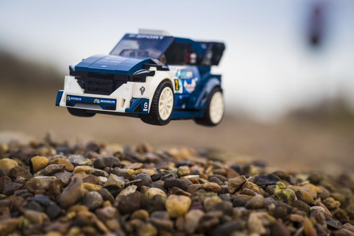 Ford, LEGO e M-Sport per la vittoria Fiesta WRC 2017