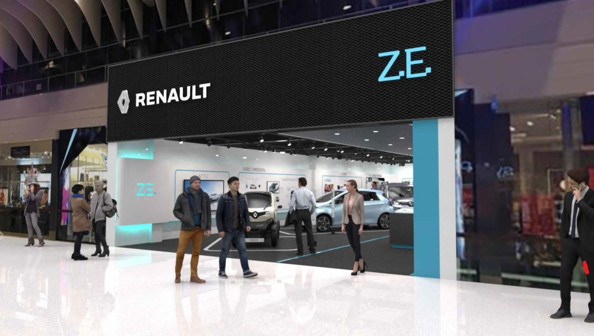 Nasce il Renault Electric Vehicle Experience Center