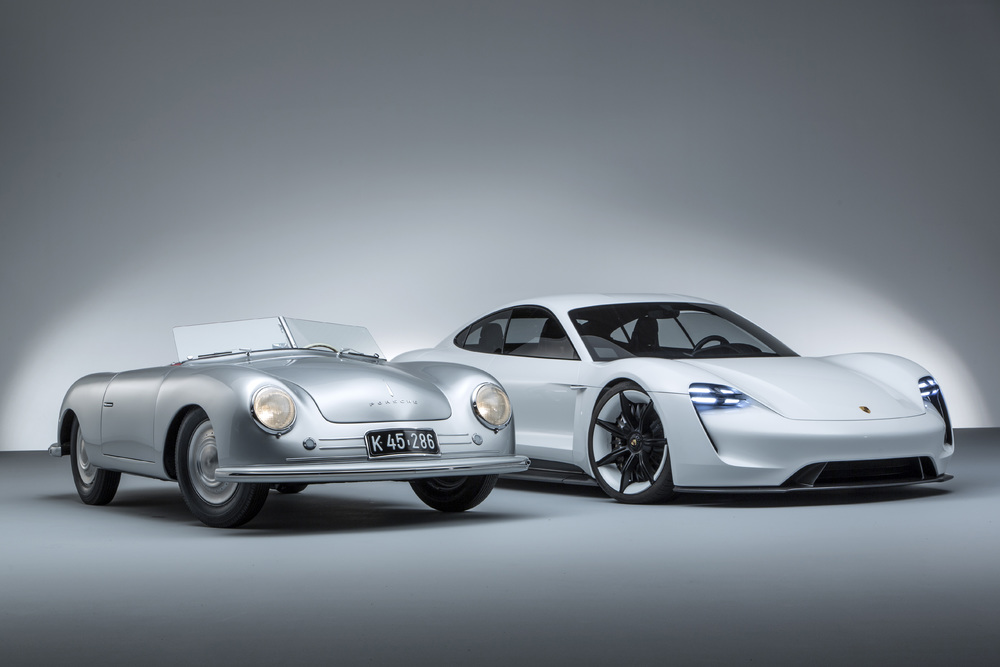Porsche: 70 anni di vetture sportive