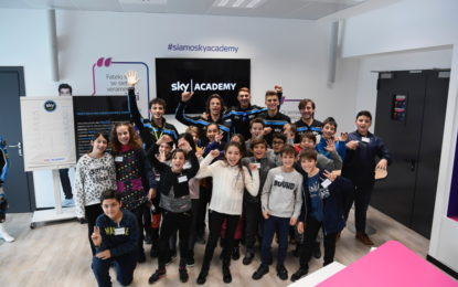 Lo Sky Racing Team VR46 incontra gli studenti